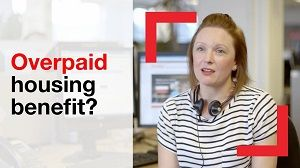 What is a benefit overpayment?